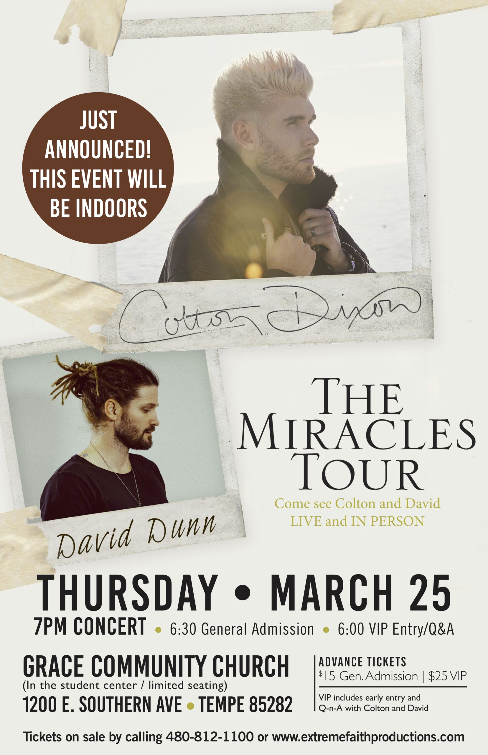 The Miracles Tour